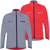 Proviz NEW: Switch Mens Cycling Jacket - Red / Reflective