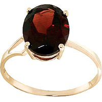 Garnet Claw Set Ring 2.2ct in 9ct Gold - Gold Gifts