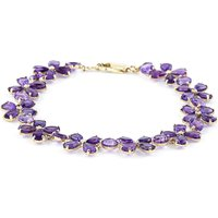 Amethyst Blossom Bracelet 20.7ctw in 9ct Gold - Fashion Gifts