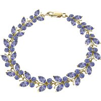 Tanzanite Butterfly Bracelet 7.8ctw in 9ct Gold - Fashion Gifts