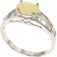 Click to view product details and reviews for Opal Catalan Filigree Ring 045 Ct in 9ct White Gold.