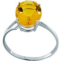 Sterling Silver 2.20ct Citrine Ring