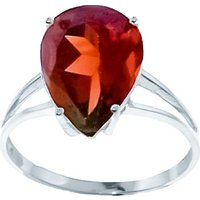 Sterling Silver 5.0ct Garnet Ring