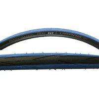 Reifen Rennrad Schwalbe Lugano 23 mm, blau-schwarz