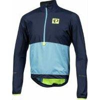 Fahrradjacke Pearl Izumi Select Barrier Pullover Herren M, dunkelblau/rot