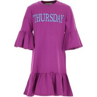 Alberta Ferretti Girls Dress On Sale, Violet, Cotton, 2019, 10Y 12Y 14Y 4Y 6Y