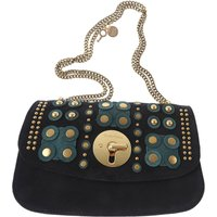 Chloe Shoulder Bag for Women, See By Chloe, Dark Blue, suede, 2017