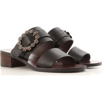 Chloe Sandals for Women On Sale, See By Chloe, Black, Leather, 2019, 6.5 7.5 8.5