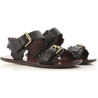 Chloe Sandals for Women On Sale, See By Chloe, Dark Avio Blue Melange, Leather, 2019, 4.5 6.5 7.5