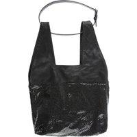 Paco Rabanne Top Handle Handbag On Sale, Black, Leather, 2019