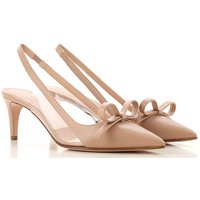 RED Valentino Pumps & High Heels for Women On Sale, Nude, Leather, 2019, 3.5 5.5 7.5