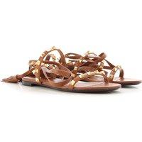 Valentino Garavani Womens Shoes, cappuccino, Leather, 2019, 2.5 3.5 6.5