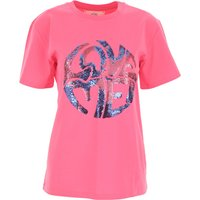 Alberta Ferretti T-Shirt for Women On Sale, Fuchsia, Cotton, 2019, 12 6 8