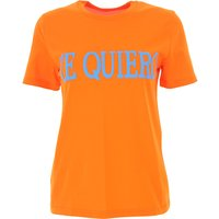 Alberta Ferretti T-Shirt for Women On Sale, Orange, Cotton, 2019, 10 12 6 8
