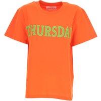 Alberta Ferretti T-Shirt for Women On Sale, Orange, Cotton, 2019, 10 6 8