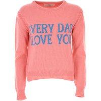 Alberta Ferretti Sweater for Women Jumper On Sale, Pink, Cashmere, 2019, 10 8