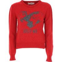 Alberta Ferretti Sweater for Women Jumper, Red, Cashmere, 2019, USA 4 -- IT 38 USA 6 -- IT 40