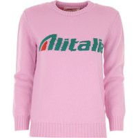 Alberta Ferretti Sweater for Women Jumper On Sale, Pink, Virgin wool, 2019, 10 6 8