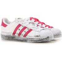 Adidas Zapatos para Niña Baratos en Rebajas Outlet, Blanco, 2019, Child 7 - Ita 40 UK 3.5 - EUR 36
