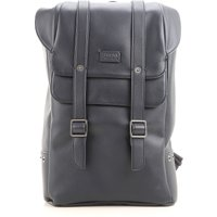 Armani Jeans Backpack for Men On Sale, Blue, Leather, 2019