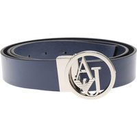 Armani Jeans Womens Belts On Sale in Outlet, Blue, Leather, 2019