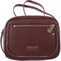 Armani Jeans Shoulder Bag for Women On Sale, Burgundy, Leather, 2019