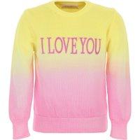 Alberta Ferretti Kids Sweaters for Girls On Sale, Yellow, Cotton, 2019, 12Y 4Y 6Y