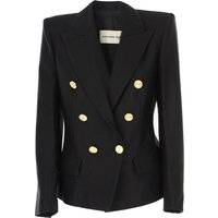 Alexandre Vauthier Blazer for Women On Sale, Black, Cotton, 2019, 6 8