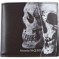 Alexander McQueen Wallet for Men, Black, Leather, 2019