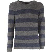 Antony Morato Sweater for Men Jumper On Sale, Melange Grey, Viscose, 2017, L S XL XXL XXXL