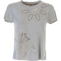 Angelo Marani T-Shirt for Women On Sale, Grey, Viscose, 2019, 10 12 8