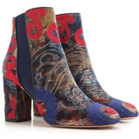 Aquazzura Boots for Women, Booties On Sale in Outlet, Multicolor, Velvet, 2019, 2.5 3.5