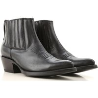 Ash Boots for Women, Booties On Sale in Outlet, Black, Leather, 2019, 4.5 6.5