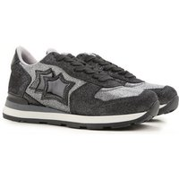 Atlantic Stars Sneakers for Women On Sale, Grey, Leather, 2019, 3.5 4.5 6.5 7.5