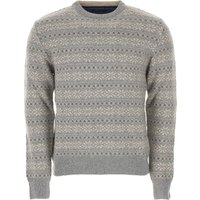 Alberto Vico Sweater for Men Jumper On Sale, Grey, Merinos Wool, 2019, L S XL XXL