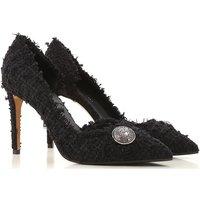 Balmain Pumps & High Heels for Women On Sale, Black, Leather, 2019, 5.5 6.5