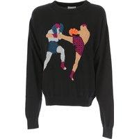 Barrie Sweater for Women Jumper, Black, Cashemere, 2019, 6 8