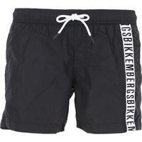Bikkembergs Swim Shorts Trunks for Men On Sale, Black, polyester, 2019, S M L XL