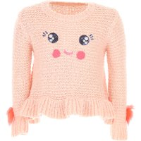 Billieblush Kids Sweaters for Girls On Sale, Pink, Acrylic, 2019, 6Y