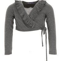 Blumarine Baby Sweaters for Girls On Sale in Outlet, Grey, polyestere, 2019, 18M 4Y