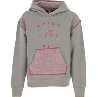 Bonpoint Kids Sweatshirts & Hoodies for Girls On Sale, Grey, Cotton, 2019, 14Y 8Y