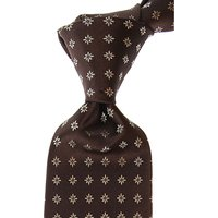 Borrelli Ties On Sale, Brown, Silk, 2019