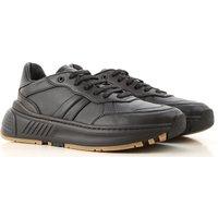 Bottega Veneta Sneakers for Men On Sale, Black, Leather, 2019, 5.5 6.5 7 8 9.25