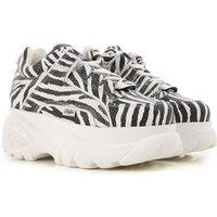 Buffalo Sneakers for Women On Sale, Black, Leather, 2019, UK 4 - EU 37 - US 7 UK 5 - EU 38 - US 8 UK