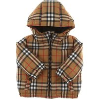 Burberry Baby Down Jacket for Boys On Sale, Antique Yellow, polyester, 2019, 12M 2Y 3Y 6M