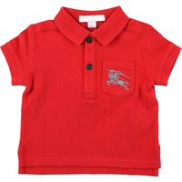 Burberry Baby Polo Shirt for Boys On Sale in Outlet, Bright Red, Cotton, 2019, 12 M 6M