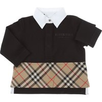 Burberry Baby Polo Shirt for Boys On Sale, Black, Cotton, 2019, 2Y 6M