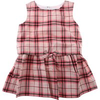 Burberry Baby Dress for Girls On Sale, Bright Rose, Cotton, 2017, 12M 18M 2Y 6M 9M