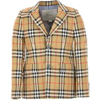 Burberry Kids Blazer for Boys On Sale in Outlet, Brown, Cotton, 2019, 10Y 6Y