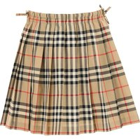 Burberry Kids Skirts for Girls On Sale, Beige, Cotton, 2019, 3Y 8Y